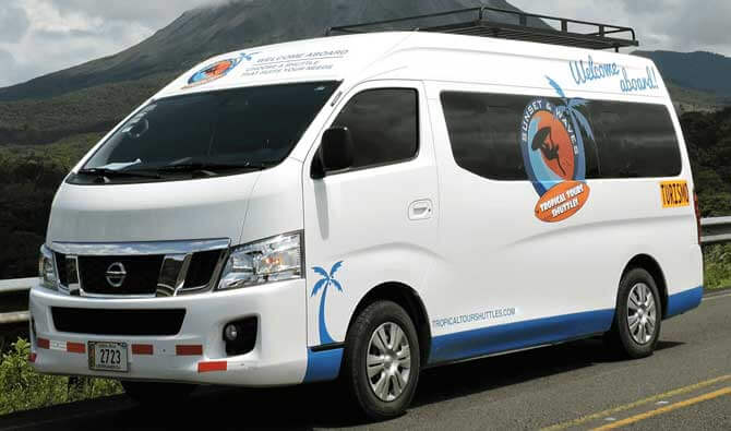 Cabuya to Monteverde Shuttle Bus Transportation Service