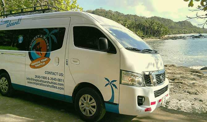 Carrillo to Coco Beach Minibus
