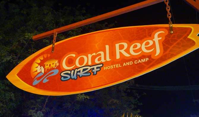 Coral Reef Surf Hostel Amenities
