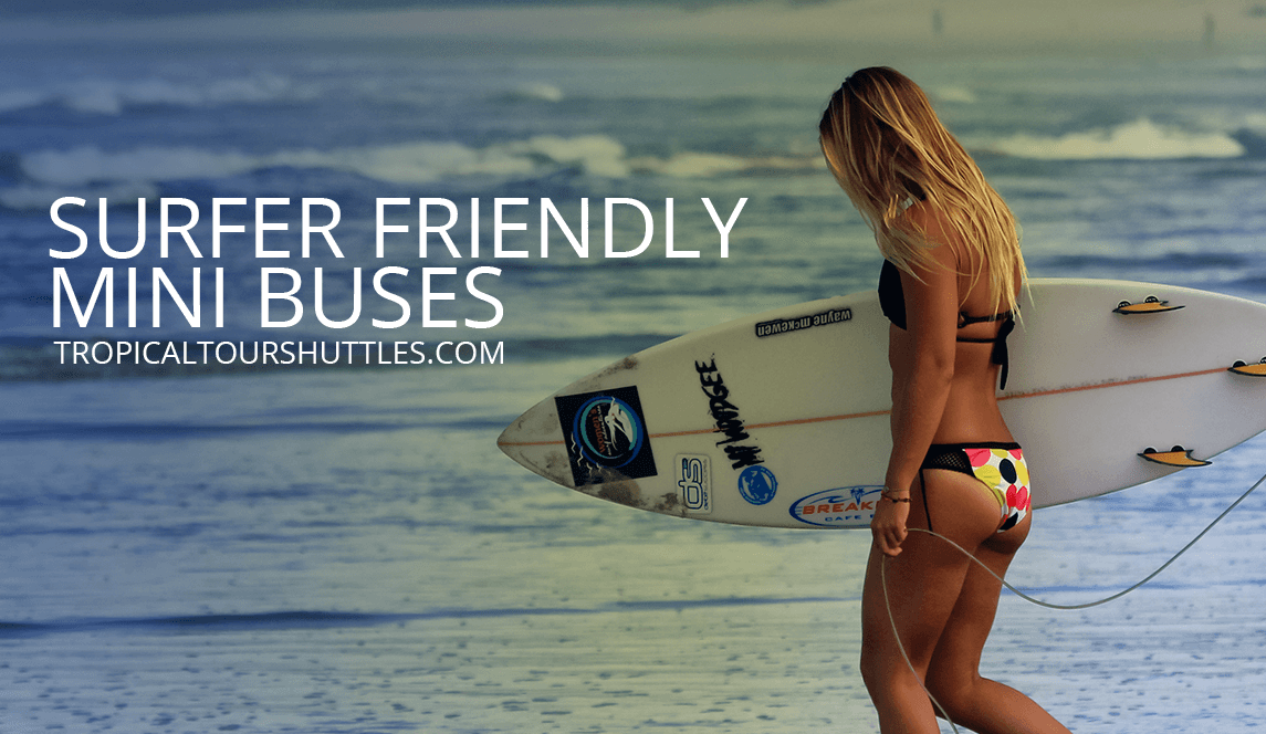 Surfer Friendly Mini Buses