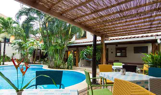 Ten North Tamarindo Beach Hotel Amenities