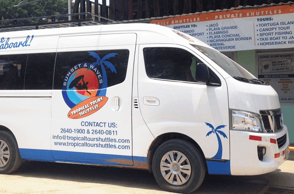 Tropical Pasta Surf Hostel Shuttle Services